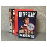 Selection of Star Trek Books Including