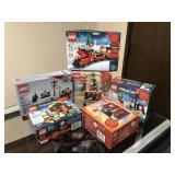 Six NIB Christmas Lego Sets