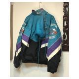 Charolette Hornets Starter Puffy Jacket
