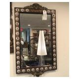 Spanish Mirror Accented with Porcelain