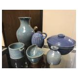 Selection of Blue Pottery