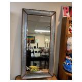Zinc Full Length Mirror