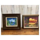 Two Framed and Signed Alan Winstead