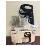 New With Box Rival Hand/Stand Mixer