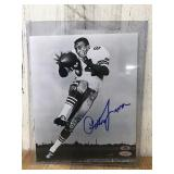 Autographed Pettis Norman 8 by 10 Photo