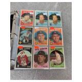Large Selection of 1959 Baseball Cards