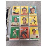 Large Selection of 1958 Baseball Cards