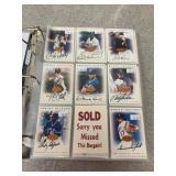 Large Selection of Autographed Baseball