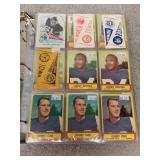 Selection of Football Trading Cards