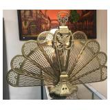 Brass Fan Screen