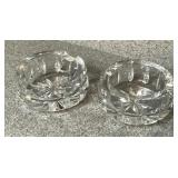 Waterford Crystal Ashtrays