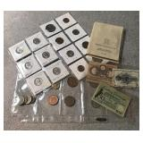 Selection of American and Foreign Currency