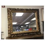 LARGE Carved Gold Framed Mirror