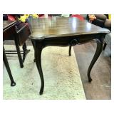 Solid Wood Card Table with Ashtray