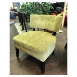 MCM Cushioned Chair