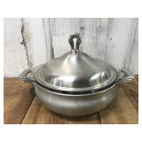 Towle Stamped Pot, Pyrex Ovenware, and
