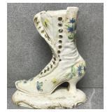 Ceramic Victorian Style Boot Door Stop