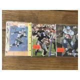 Three Emmitt Smith Football Cards