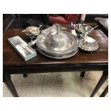 Rodger Silver Plated Salad Set and