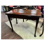 Antique Owen Ann Style Game Table
