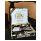 Cigar Box Full of Collectables