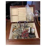 Selection of Jewelry, Belt Buckle, and more