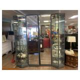 LARGE Mirrored and Lighted Display and