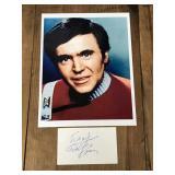 Autographed Picture of Walter Koenig