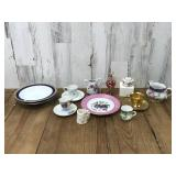 Selection of China Plates, Cups, Saucers and more