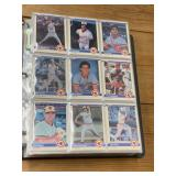 Selection of 1984 Fleer Baseball Cards