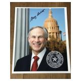 Signed Photo of Greg Abbott Texas State