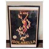 Isolabella Framed Reprint