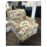 South Western Style Swivel Chair