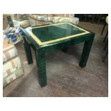 Green Decorative Side Table