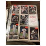 1998 Topps gold label baseball card alblum