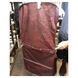 Leather clothing bag like new
