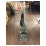 Bissell steam cleaner, powers on