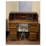 Vintage Rolltop Desk