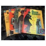 Five Green Hornet vintage comics