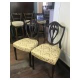 Two Antique Accent Chairs