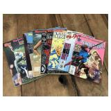 Selection of Vintage Comics and Sports