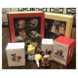 Selection of Disney Christmas Ornaments