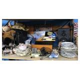 Collector Plates, Cowboy Hat, Speaker and more