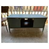 Rustic style entertainment stand