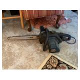 """Craftmans 16"""" electric chain saw"""