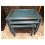 Rustic style Nesting Tables