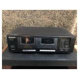 Pioneer double deck cassette player