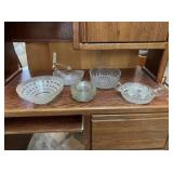 Large Selection Of Cut Glass
