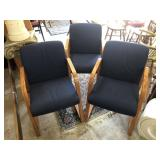 4 Vintage Office Chairs