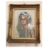 Framed Oil on Canvas - Signed Betty Shee